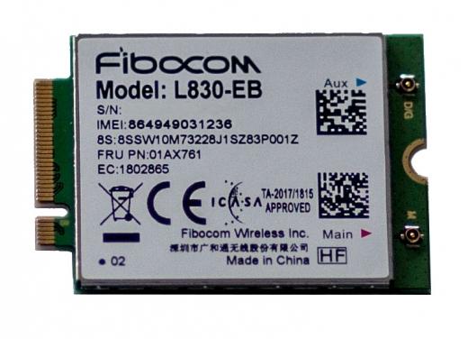 ThinkPad Fibocom L830 4G LTE Modul 4XC0Q92823