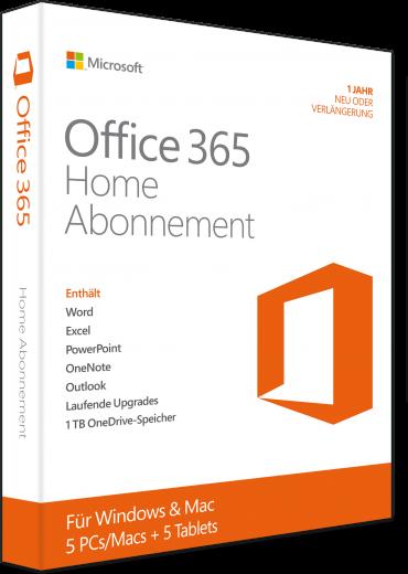 Office 365 Home Abonnement  6GQ01054