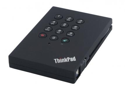 ThinkPad USB 3.0 Portable Secure 1TB Hard Drive 0A65621