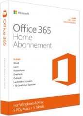 Office 365 Home Abonnement  6GQ01054