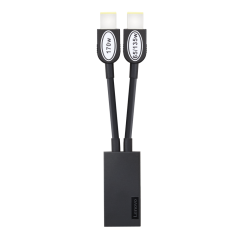 Thunderbolt™ 3 Workstation Dock SLIM-TIP Y Kabel 4X90U90620