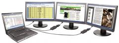 Lenovo USB-to-DVI Monitor Adapter 0B47072